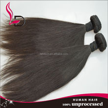 High grade hair weft machine cheap natural wholesale straight style free sample virgin raw virgin malaysian hair