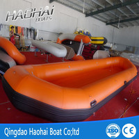 4.85m rubber water drifting inflatable boat for sale
