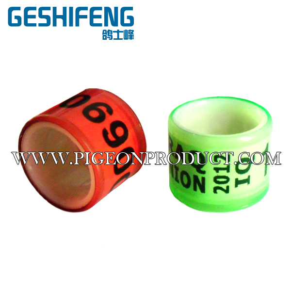Hot selling plastic pigeon ring incoming pigeon leg bands with low price