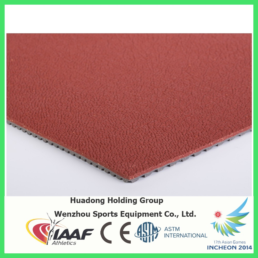 Professional synthetic rubber flooring roll, tennis, basketball, volleyball, badminton court flooring roll