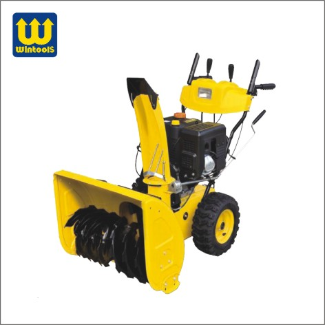 Wintools WT02658 snow brush thrower track snow thrower