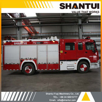 Water tender, water and foam PM40H fire fighting truck