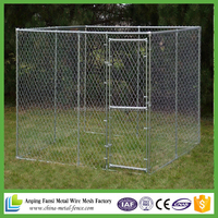 Manufacturer wholesale welded wire mesh large dog cage / dog run kennels / dog run fence panels