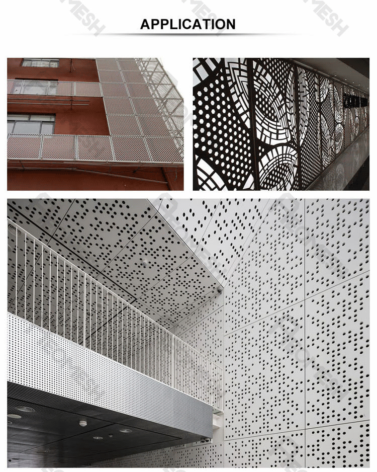 Made in Guangzhou Professional Factory Star spent punching plate Decorative Metal Perforated Mesh