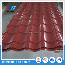 ppgi /Best Zinc Color Coated Solid Steel Roofs Sheets made in china hot sale