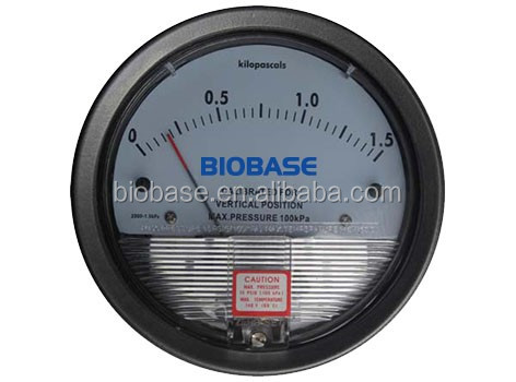 China hot sale salable high quality laboratory Differential Pressure Gauge available for sale CE ISO certified