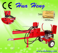 CE approved petrol wood log splitter/log cutter