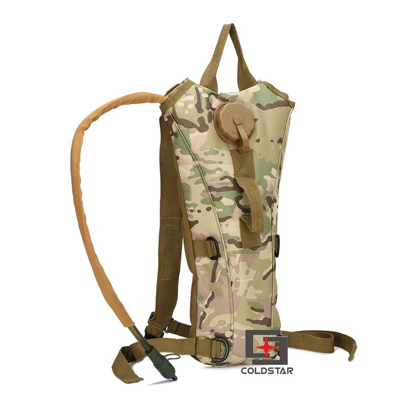 CP Cycling Climbing Hiking Outdoor Sports Water Bag 3L Hydration Packs Tactical Camouflage Water Bag Assault Backpack