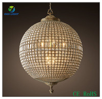 ce rohs ball shape crystal lighting modern chandelier for home deocr