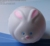 pu special unique squeeze rabbit/antistress ball/Easter round rabbit bunny egg toy