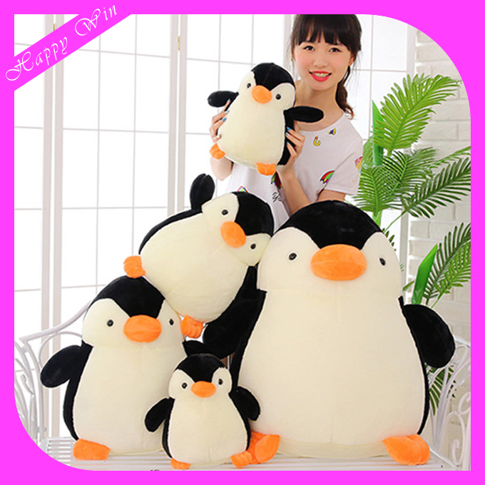 Small penguin toys, mini plush toys animal, OEM 20cm 28cm 38cm 48cm stuffed toys penguin shaped toys