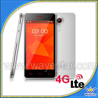 Custom Plastic Shell Quad Core Android 4G LTE Mobile Phone