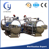 Automatic stainless steel ATB series two layer water immerse autoclave machinery