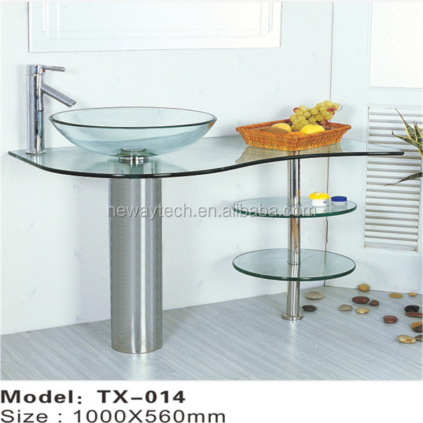 New high quality free standing stainless steel sink,cheap bathroom sinks