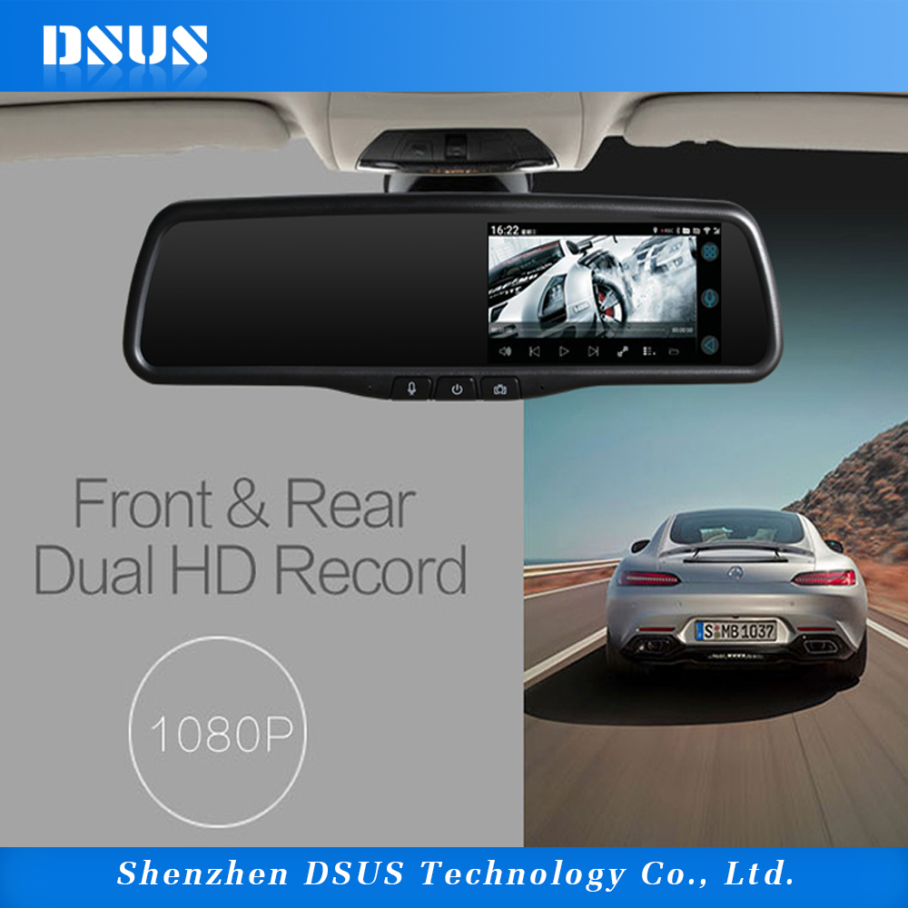 5 inch android car rear view bluetooth camera gps navigation