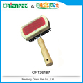 ORIENPET & OASISPET Pet brush Dog double side brush with wooden handle Ready stocks OPT36187 Pet products