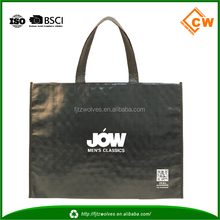 wholesale custom size and logo shopping use recyclable non woven bag