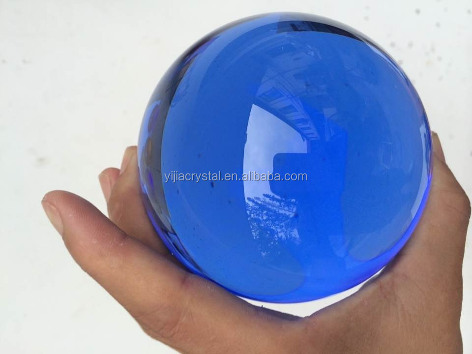2018 Colorful Top K9 Crystal Ball/k9 solid crystal ball for sale/glass ball