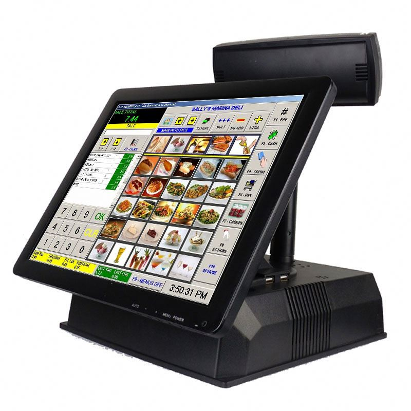 All In One Touch Screen Pos Terminal Machine IZP012