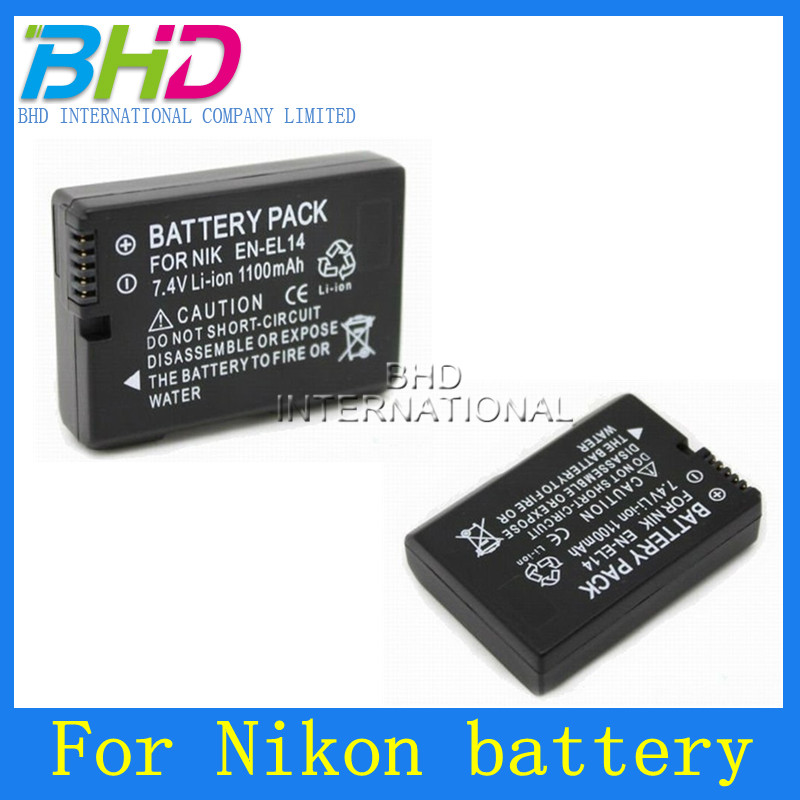 Digital Camera Battery pack For Nikon EN-EL14