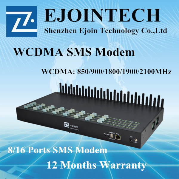 Ejointech voip 32 channels gsm modem sms gateway