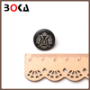 Trousers decoration black nickel abs button for lady long dress Good plating
