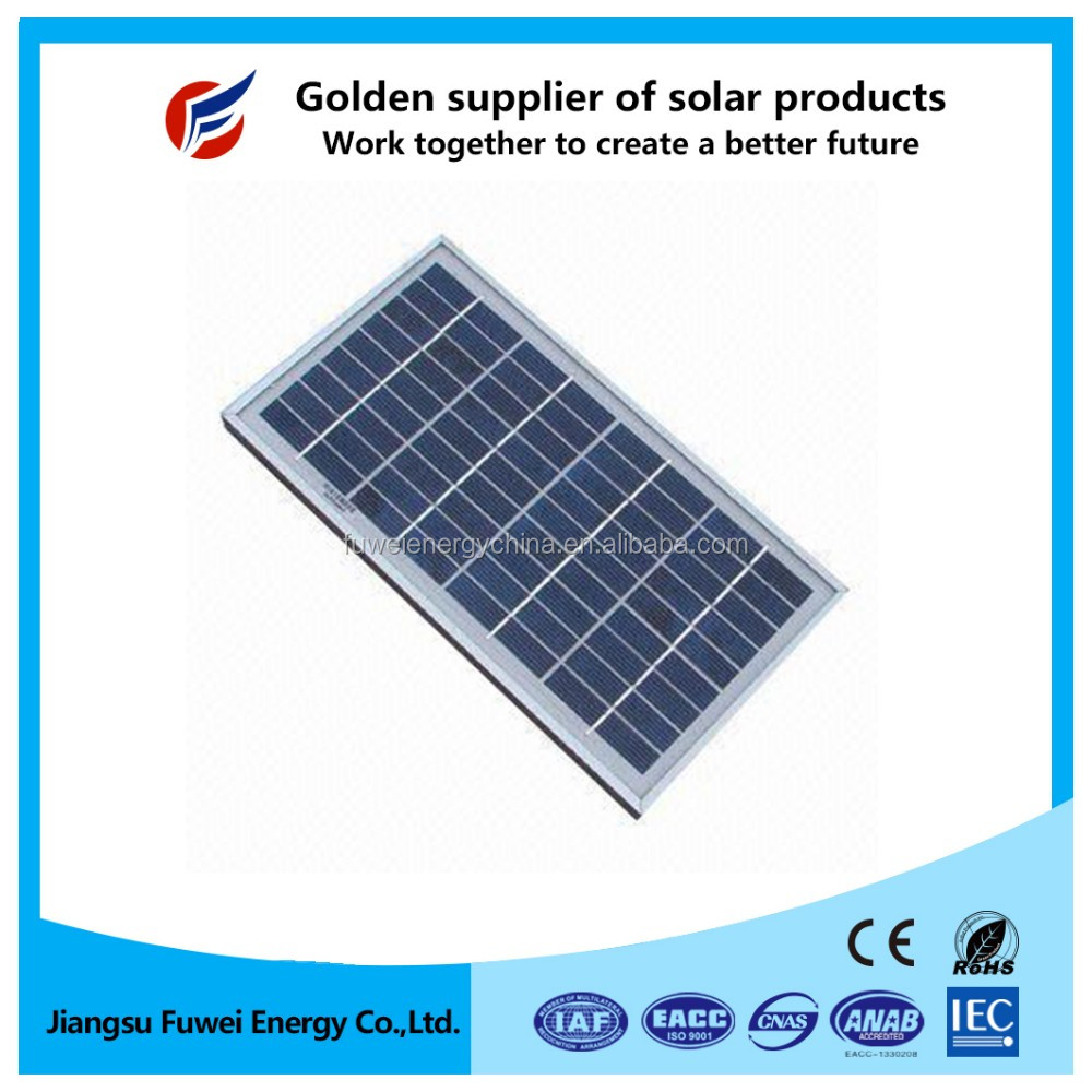 Factory direct high efficiency small solar panel 20w
