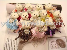 many style bear joint bear doll with heart