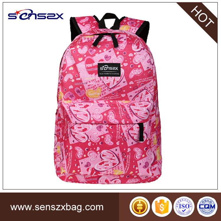 Fashion Girl Backpack Tom And Jerry School Bag