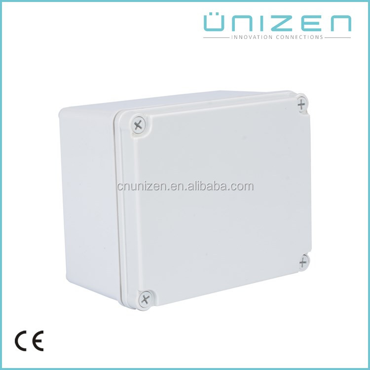Unizen CE Outdoors IP67 Waterproof Terminal Junction Box ABS Plastic Sealed Electrical Junction Boxs
