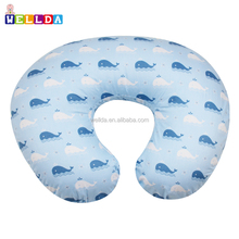100% cotton whale design boppy pillow slipcover nursing pillow and positioner