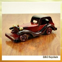 Manufacturers Selling 8 Inch Retro Classic Car Wooden Crafts for Model Cars R8092