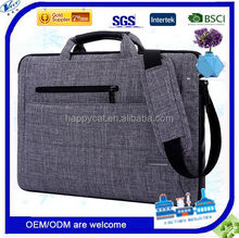 15.6-Inch Multi-functional Suit Fabric Portable Laptop Adjustable padded shouler strap nesting handles