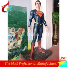 1.8 Meters High Fiberglass Superman Statues for Sale