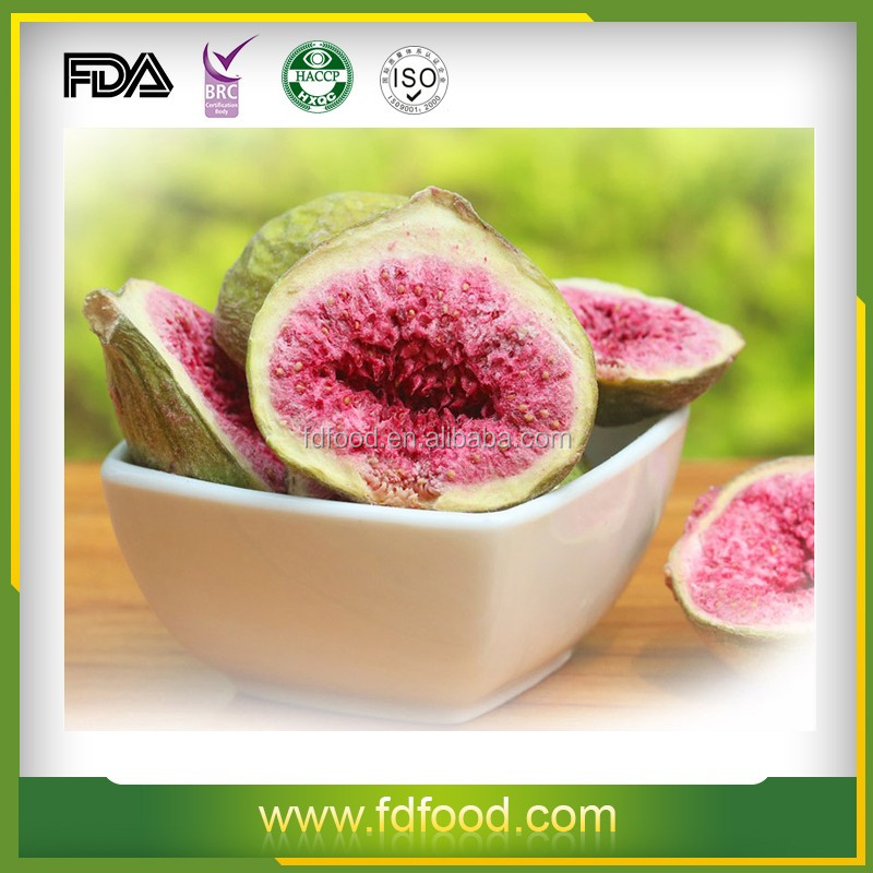 Freeze Dried Fruit Fig of nature 100% no artificial additives