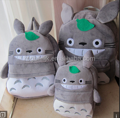 ICTI Create Your Own CE EN71 Plush Toy Fashion Custom Plush Cat Backpack
