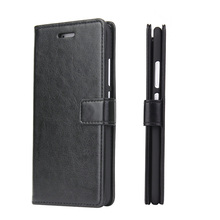 Wallet style flip case for huawei p10 plus leather phone case with card holders