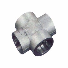 EPCO Forged Steel High Pressure Socket Weld Pipe Fitting Cross
