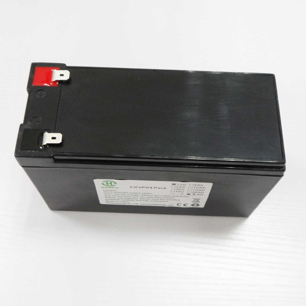 Howell 12v battery lifepo4 10Ah