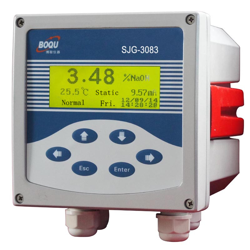 SJG-3083 Pipe and boiler water cleaning Online hydrochloric acid and alkali Concentration Meter