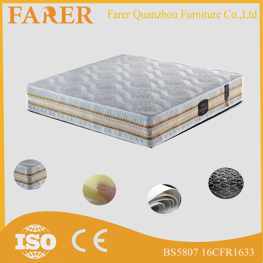 Roll up high quality memory foam bedroom mattress