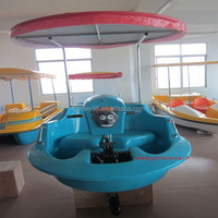 Intereting water amusement game battery operated water bumper boat(M-010)