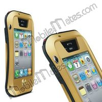 High Quality Love Mei Taktik Waterproof Case + Shockproof Aluminum Metal Case for iPhone 5 5S 5C 4 4S
