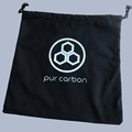 Disposable hotel laundry bag black cotton bags
