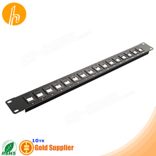 16 port 1U Blank Patch Panel HM-PP20