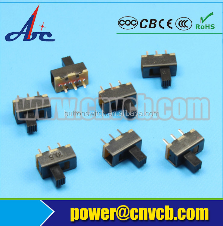 SS12F17 Abbeycon spdt 3 pin slide switch