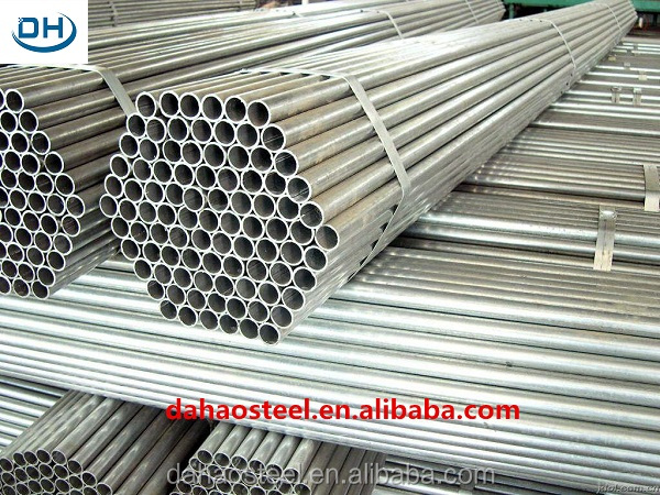 Plastic zinc coated fence galvanized steel pipe square/rectangular/round/oval tube made in China