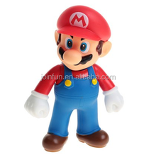 custom make Super Mario Brothers Mario Figure 12cm,custom pvc toy super mario brother figures