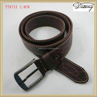TT8722 Yiwu factory professional cow genuine leather belt hot selling fashion design