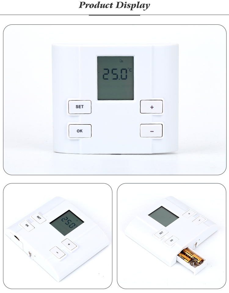 Easy Operation Gas Water Heater Mechanical Thermostat
